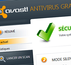 Avast est un antivirus disponible en version gratuite.