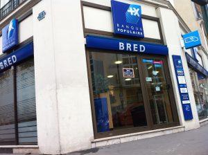 e carte bleue BRED
