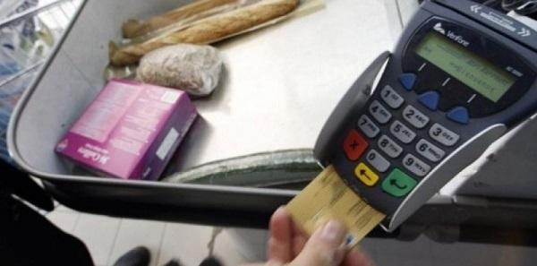 carte bancaire de supermarché