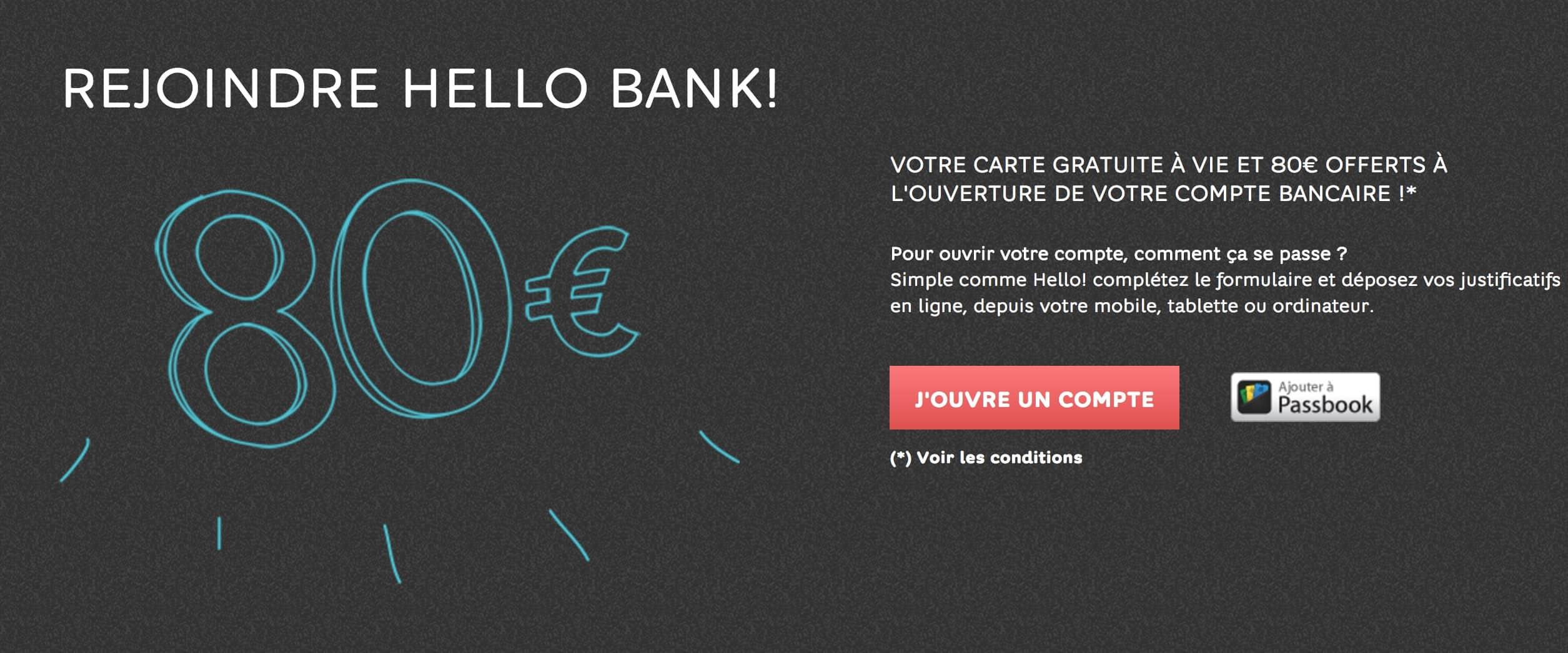 Hello Bank avis: quels sont les frais d'ouverture et de gestion d'un compte courant?